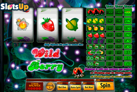 do the 3 reel wild berry slots offer quality gaming