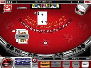can gamblers play blackjack at 32red online casino