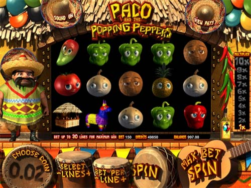 are the 3d pepper slots part of playtech