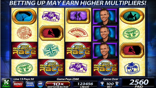 what makes amazing race slots so popular