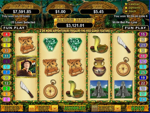find and play indiana jones themed slots