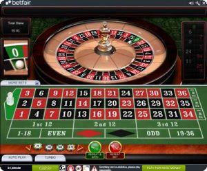 what are the payment options at betfair casino roulette