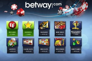 which are the banking methods at betway casino review