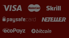 Which payment methods can the players at Box24 use?
