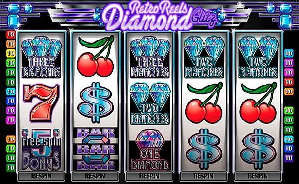 Play a rich variety of slot games at the Diamond Reels website!