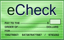 Is online banking with eChecks safe and secure?