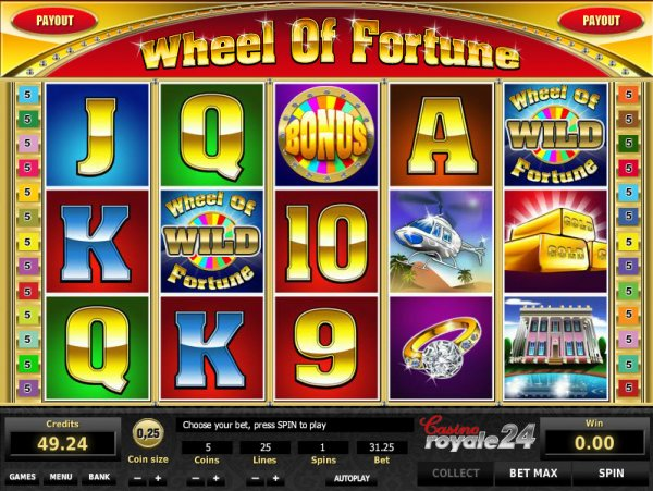 do you enjoy betting on game show themed slots