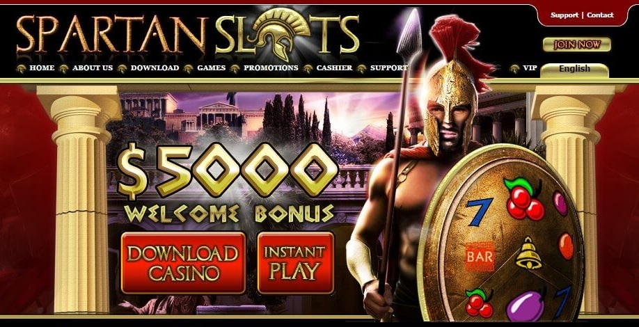 How can you claim the Spartan Slots welcome bonus?