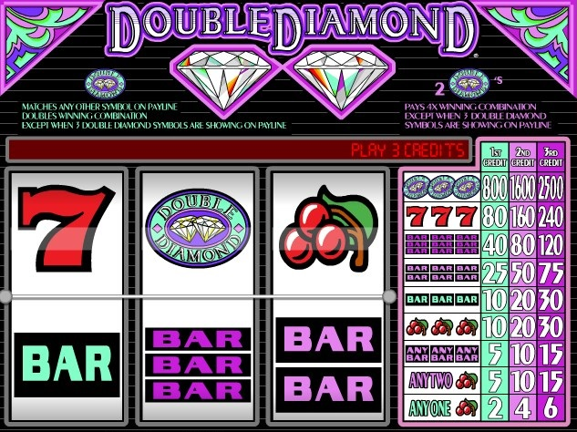 how much time you would play high limit double diamond slots