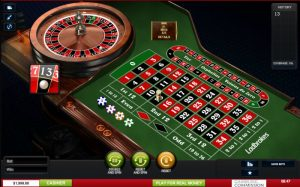 find the game options at ladbrokes casino roulette