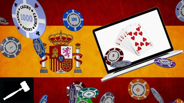 How did online betting in Spain became legal?