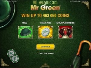 which are the best game options at mr green