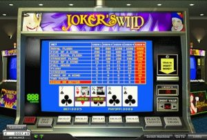 what are the rules to bet on video poker jokers wild