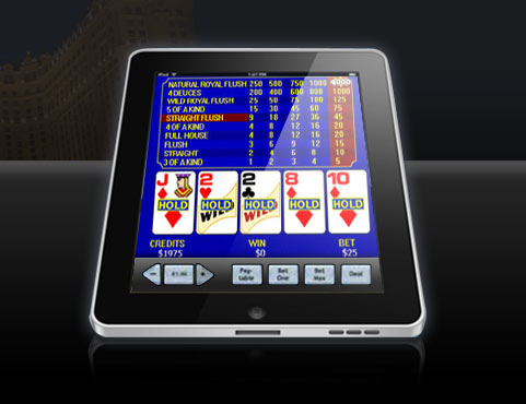 can players claim a double bonus for video poker