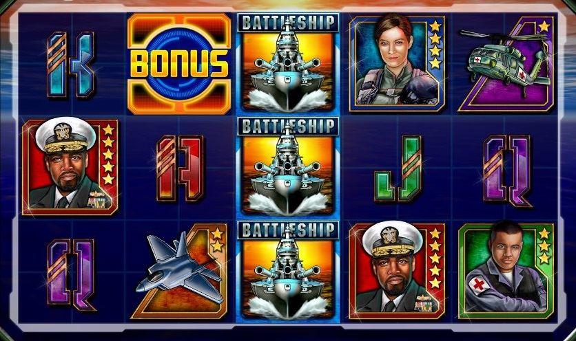 do battleship slots have sensory immersion technology