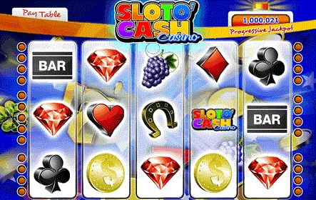 Check the gaming variety at the Sloto Cash betting site!