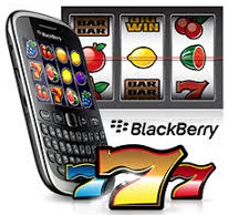 Playing slots on Blackberry is extremely similar to playing in an online casino!