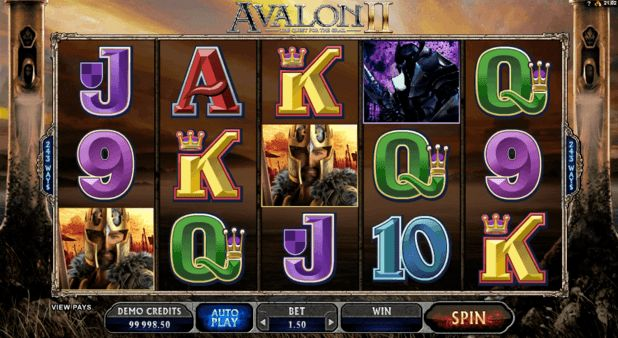 What makes playing slots for a quarter so popular?
