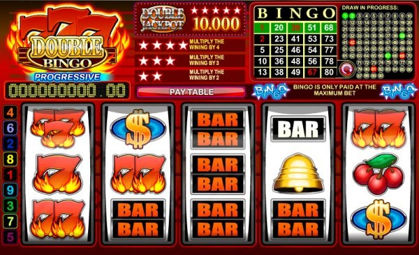 Is there an option to bet on progressive slots via bonus?