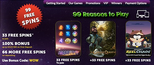 What promotions can you find at Slot Online Magic casino?