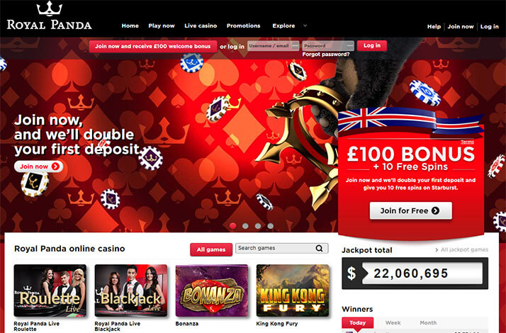 does royal panda work with microgaming and netent