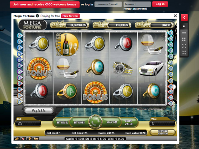 what slots are part of the royal panda game selection