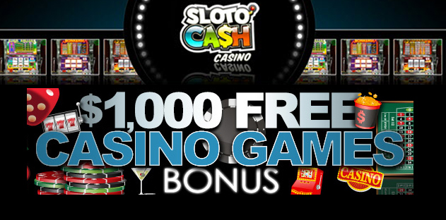 sloto cash casino offer