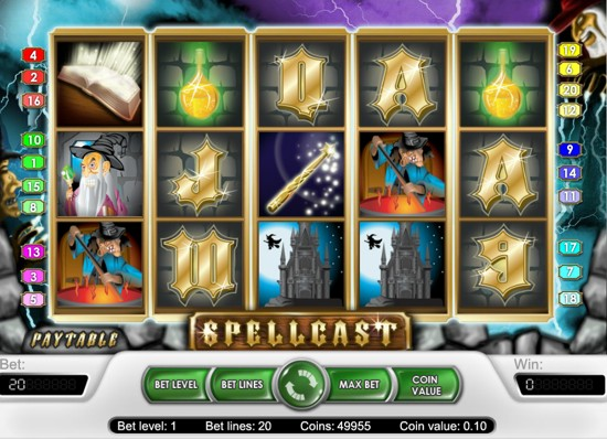 how to compare 2d slots like spellcast to 3d