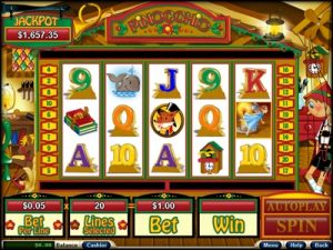 summary slot machines