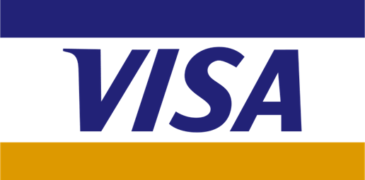 Some people prefer to use the visa card!