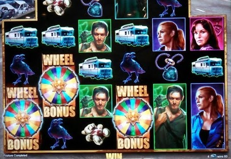 find the walking dead tv show themed slots