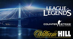 William Hill Will Be Offering the First Legal Esports Wagers in the United States
